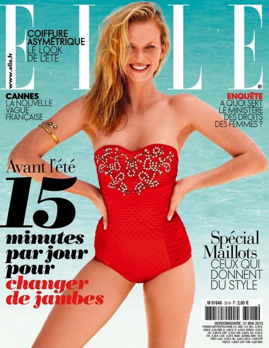 Анна Вялицына для французского Elle