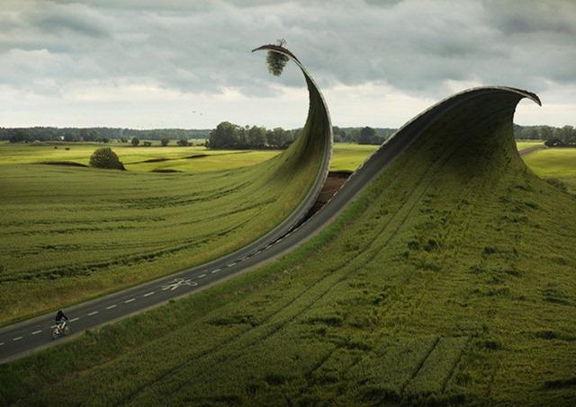 Креативные фото манипуляции, Эрик Йоханссон (Erik Johansson)