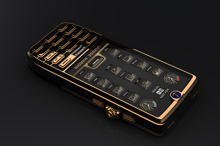 Смартфон с автоподзаводом:  Chairman Ulysse Nardin