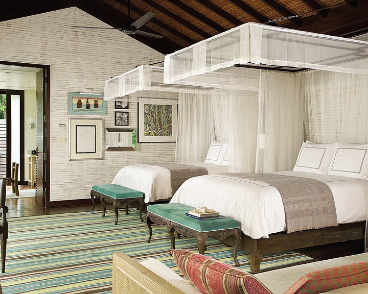 Отель Four Seasons Resort на Сейшилах