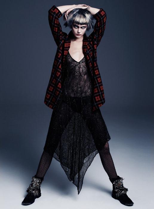 Фрида Густавссон (Frida Gustavsson) для Flair (осень 2013)