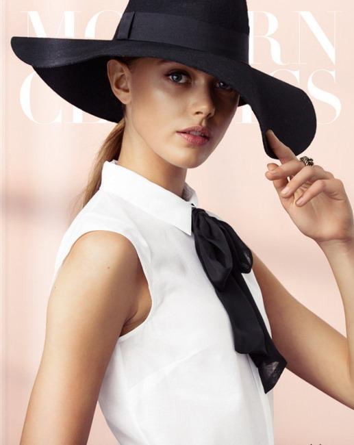 Модель Фрида Густавссон (Frida Gustavsson) для H&M Effortless Elegance (осень 2013)