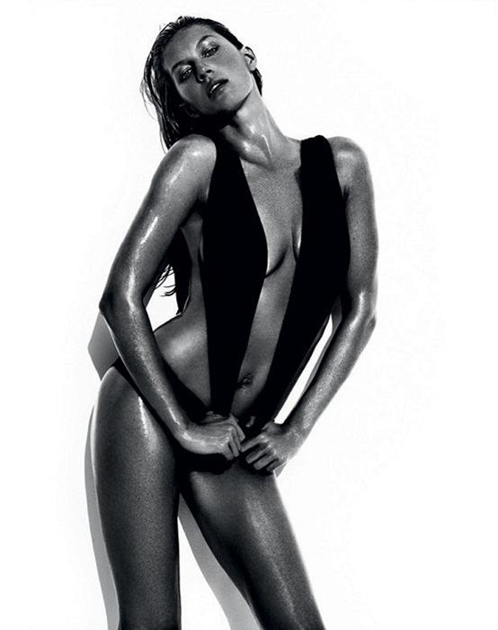 Жизель Бундхен (Gisele Bundchen) в фотосессии Марио Тестино (Mario Testino) для бразильского Vogue, июнь 2013
