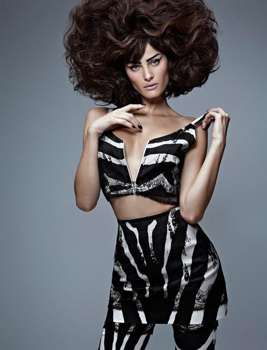 Изабели Фонтана (Isabeli Fontana) для журнала Vogue Brazil (сентябрь 2013)