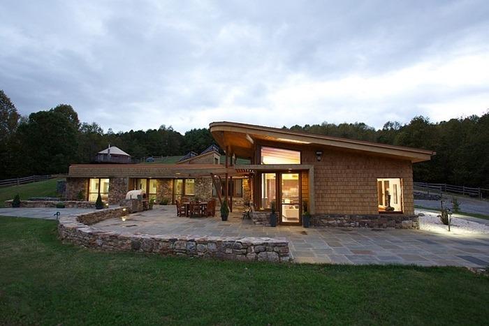 Чудесная усадьба, спроектированная Kaplan Thompson Architects