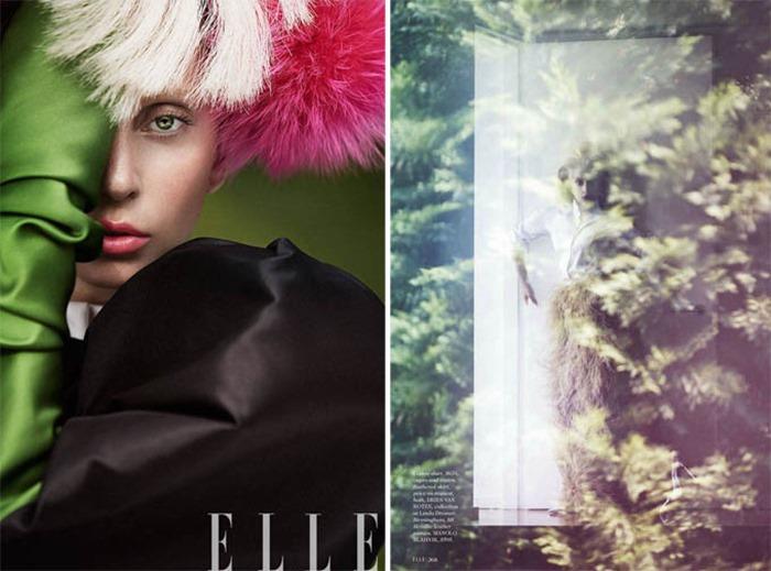 Леди Гага (Lady Gaga) для ELLE US (октябрь)