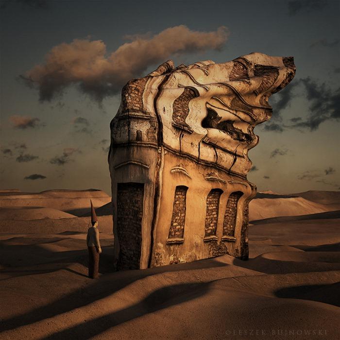 Креативные сюрреалистичные здания, Leszek Bujnowski
