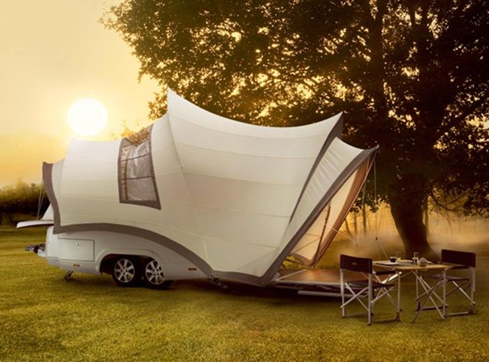Роскошные частные апартаменты на колесах, Opera Camper