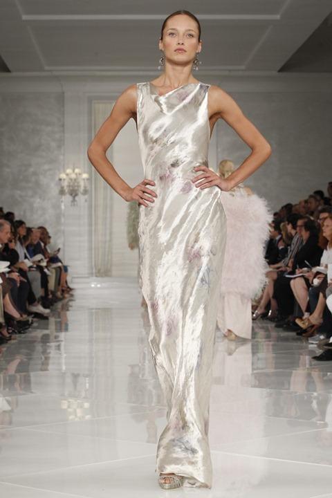 Неделя моды в Нью Йорке: Ralph Lauren весна лето 2012