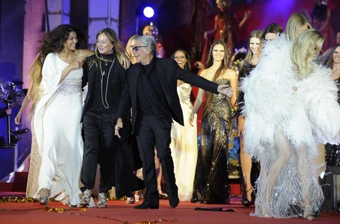 Роберто Кавалли (Roberto Cavalli) зажег Life Ball в Вене