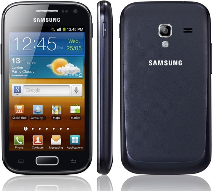 Samsung начал продажи Galaxy Ace 2