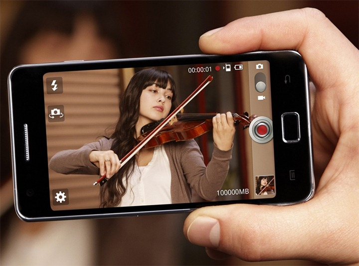 Обновленный смартфон Samsung Galaxy S II i9100