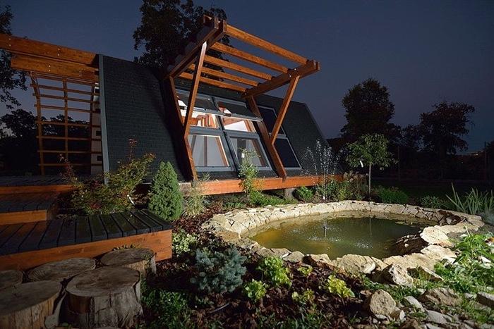 Контролируемый смартфоном + экологический дом Soleta
