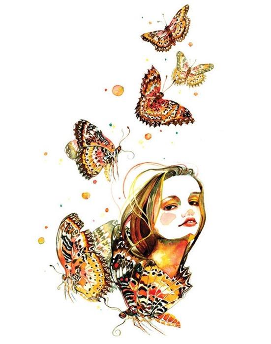 Цветочные портреты от Солнечной Гу (Sunny Gu)