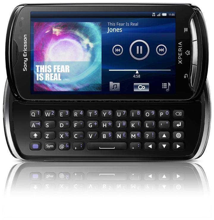В ближайшее время в продажу поступит Sony Ericsson Xperia pro