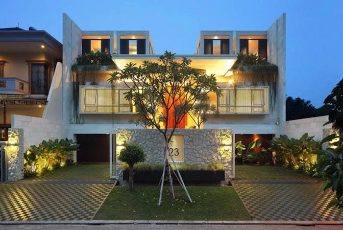TWS & Partners создали современную резиденцию в Индонезии