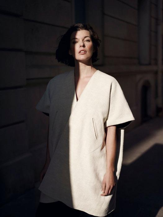 Милла Йовович для The Edit (2013)