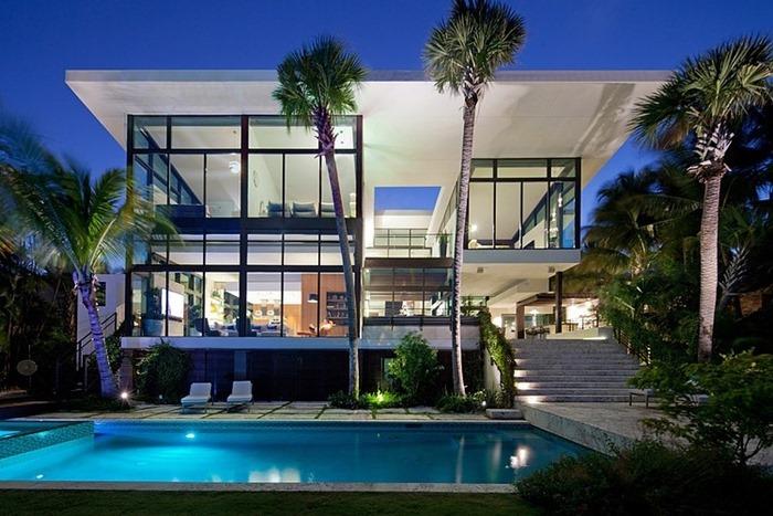 Дом, спроектированный Touzet Studio