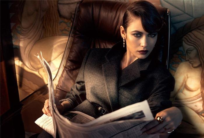 Ольга Куриленко для Vanity Fair (Франция)