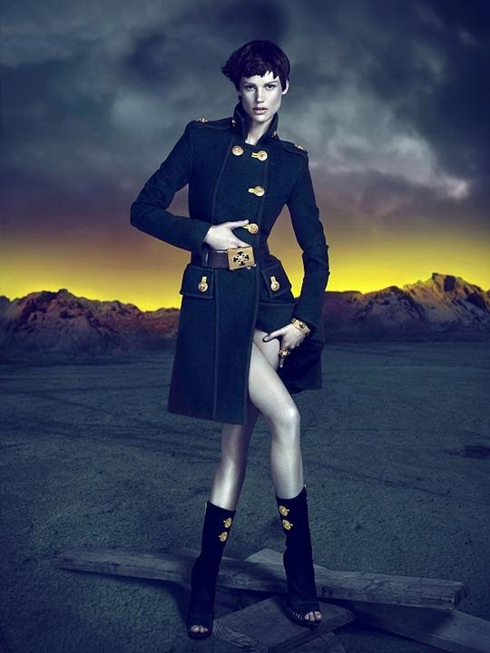 Versace осень зима 2011 2012