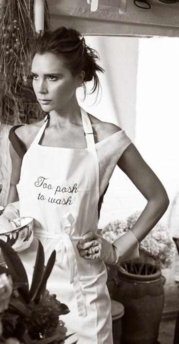 Виктория Бекхэм для Vogue UK (август, 2014)