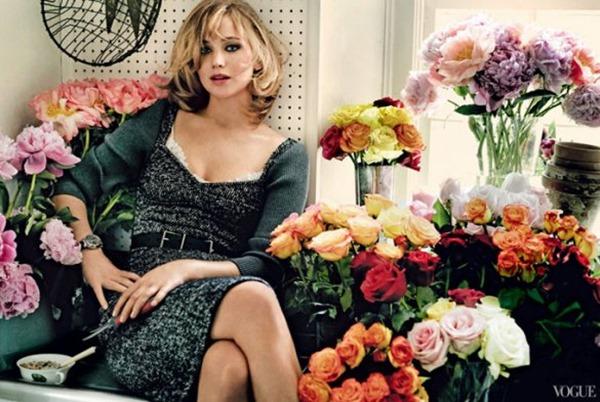 Дженнифер Лоуренс для Vogue US