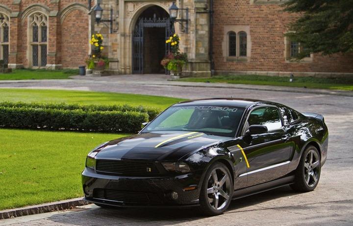 Roush Performance добавили стиля Ford Mustang