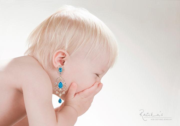Творческие рекламные фотографии с младенцами