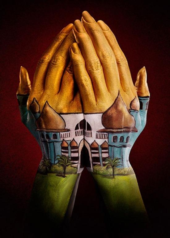 Креативный взгляд на руки от Ray Massey