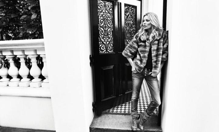 Супермодель Кейт Мосс в новой фотосессии