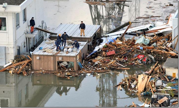 Землетрясение и цунами в японии в