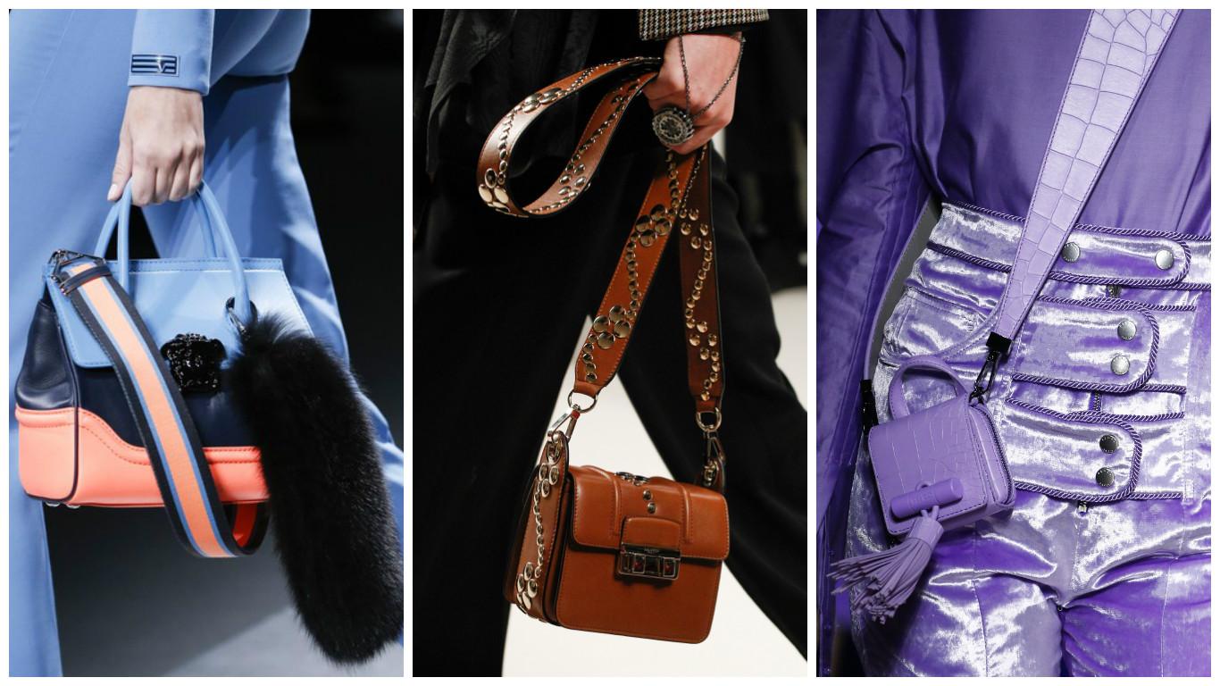 b84ee8b0e18f Мода 2018 года в сегменте сумок характеризуется необычайным разнообразием.  В новых коллекциях можно найти классику в оригинальном исполнении и ...