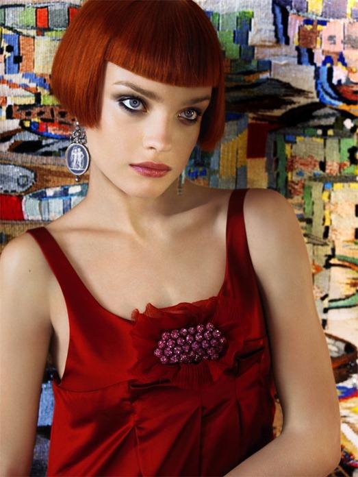 Наталья Водянова в фотосессии Марио Сорренти