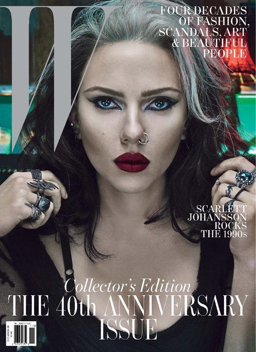Голливудские знаменитости представили разные десятилетия в W Magazine