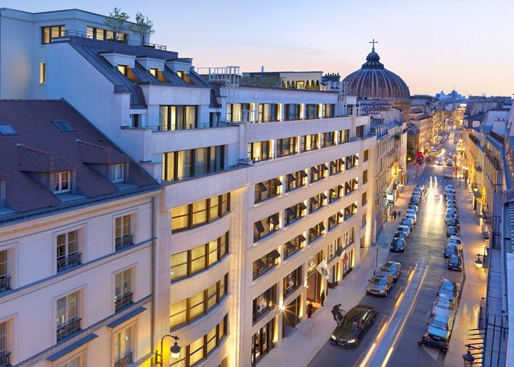 Отель Mandarin Oriental в Париже