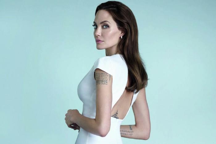 Анджелина Джоли в глянце US Vanity Fair