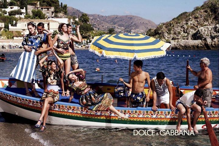 Рекламная кампания Dolce & Gabbana весна лето 2013