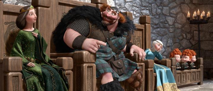 """Новый мультфильм от Pixar и Walt Disney Pictures """"Храбрая сердцем"""""""