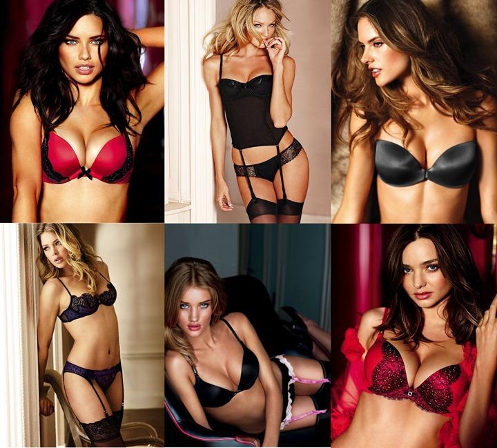Лучшие модели Victorias Secret
