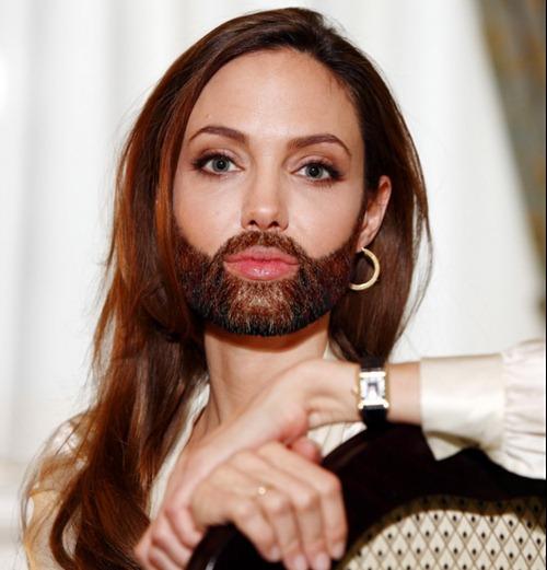 Бородатые женщины Голливуда