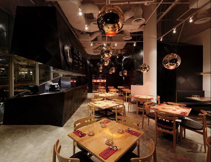 Изысканный ресторан The Tastings Room