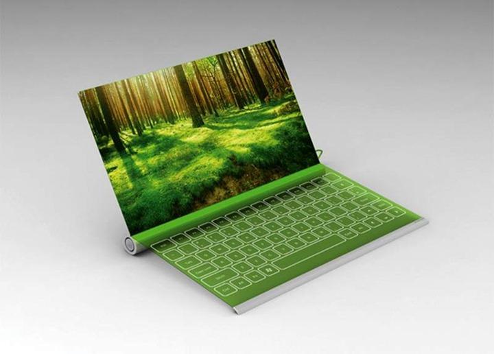 """""""Зеленый"""" ноутбук Plantbook будет заряжаться от солнца и воды"""