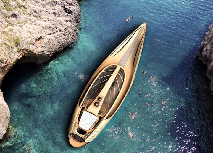 Роскошная яхта от архитекторов Simone Madella и Lorenzo Berselli