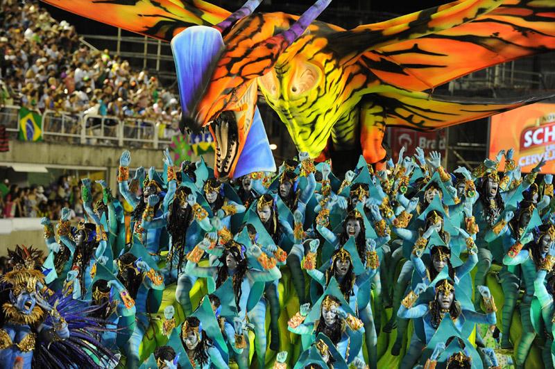 Карнавал в Бразилии 2011