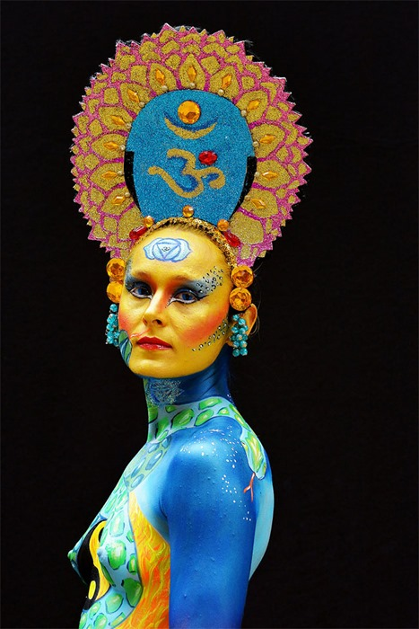 Шестнадцатый мировой фестиваль боди арта
