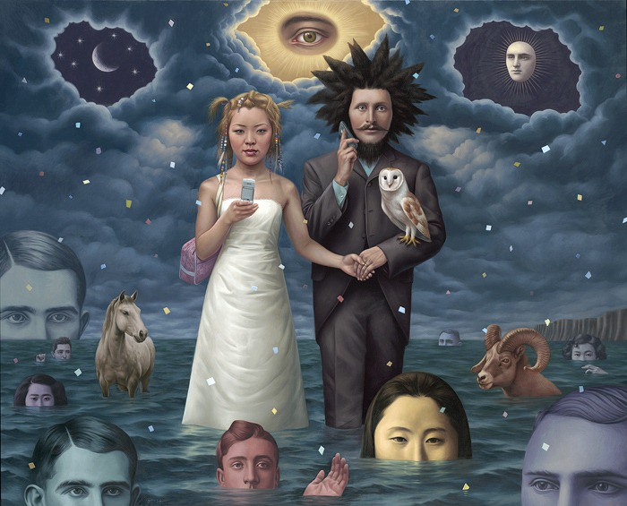 Художник Alex Gross