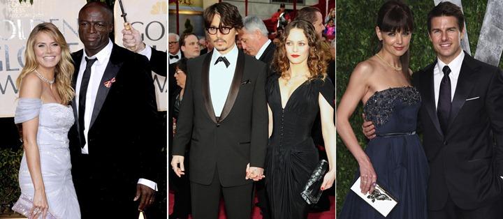 Итоги года 2012: Разводы и расставания знаменитостей