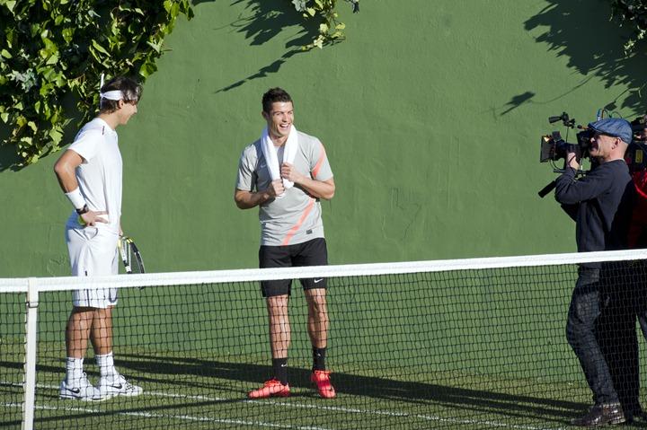 Криштиану Рональду и Рафаэль Надаль в рекламе Nike