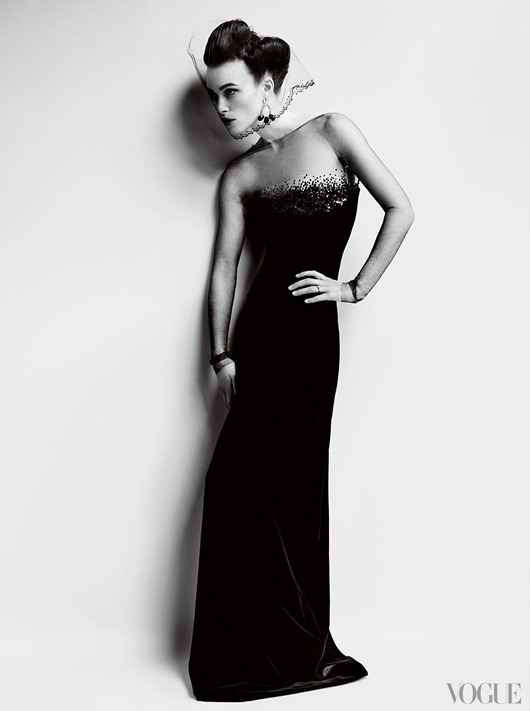 Кира Найтли и Марио Тестино для Vogue