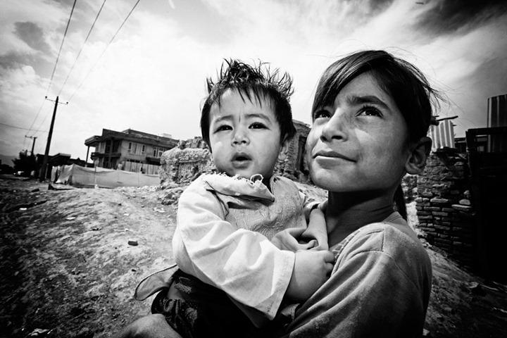 """Лица надежды"" из Афганистана от Martin Middlebrook"